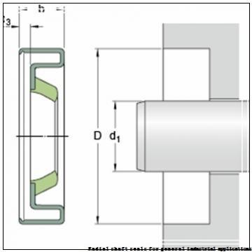 skf 80X105X10 HMSA10 V Radial shaft seals for general industrial applications