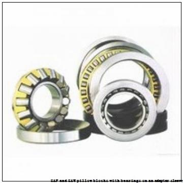 skf SAFS 22530 x 5.1/8 SAF and SAW pillow blocks with bearings on an adapter sleeve
