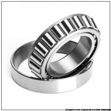 NTN 4T-28520 Single row tapered roller bearings