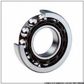 17 mm x 40 mm x 12 mm  skf 7203 BECBM Single row angular contact ball bearings