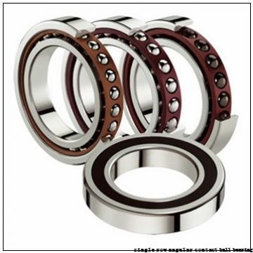 25 mm x 52 mm x 15 mm  skf 7205 BECBY Single row angular contact ball bearings