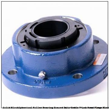 timken QVVFX26V115S Solid Block/Spherical Roller Bearing Housed Units-Double V-Lock Round Flange Block
