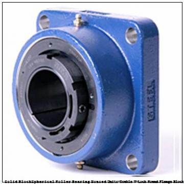 timken QVVFY19V307S Solid Block/Spherical Roller Bearing Housed Units-Double V-Lock Round Flange Block