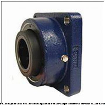 timken QAP13A207S Solid Block/Spherical Roller Bearing Housed Units-Single Concentric Two-Bolt Pillow Block