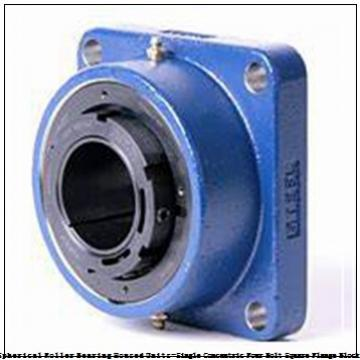 timken QAFL11A204S Solid Block/Spherical Roller Bearing Housed Units-Single Concentric Four Bolt Square Flange Block