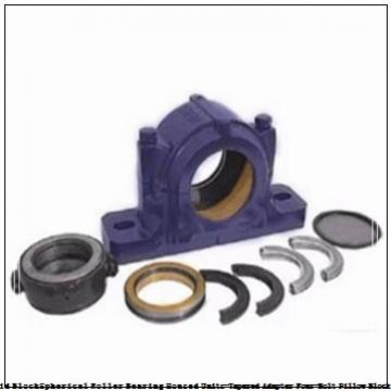 timken DVPF26K115S Solid Block/Spherical Roller Bearing Housed Units-Tapered Adapter Four-Bolt Pillow Block