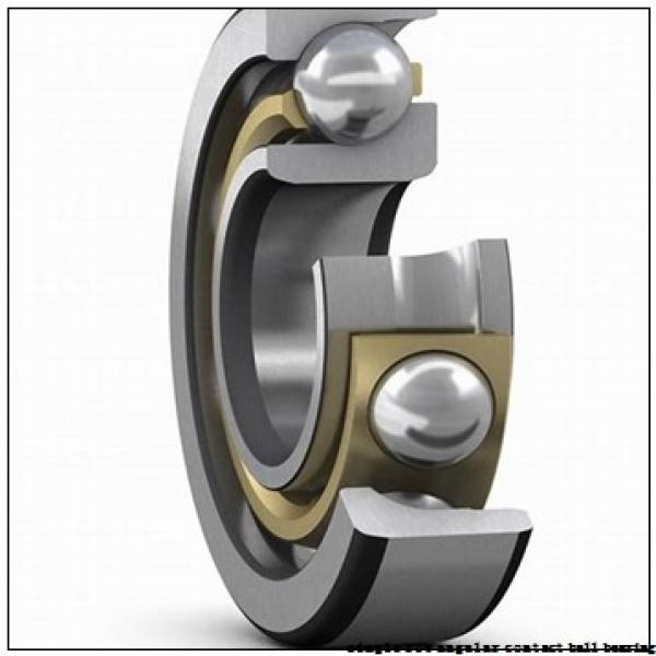 45 mm x 100 mm x 25 mm  skf 7309 BECBM Single row angular contact ball bearings #2 image