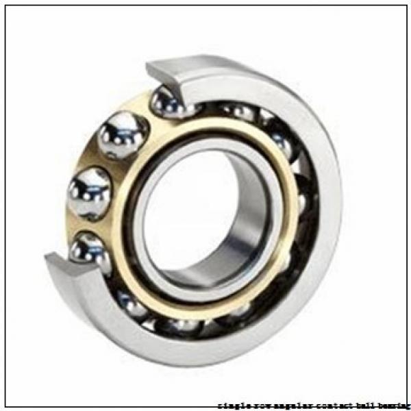 45 mm x 100 mm x 25 mm  skf 7309 BECBM Single row angular contact ball bearings #3 image
