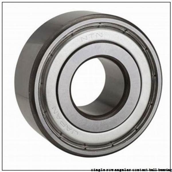 85 mm x 150 mm x 28 mm  skf 7217 BEGAF Single row angular contact ball bearings #2 image
