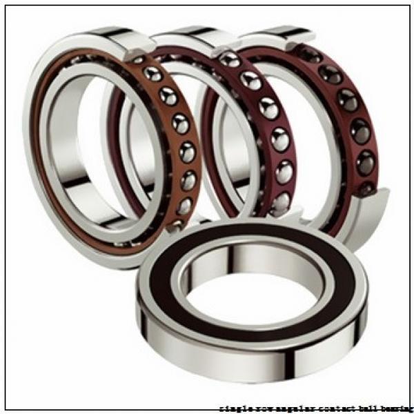 80 mm x 170 mm x 39 mm  skf 7316 BECBPH Single row angular contact ball bearings #2 image